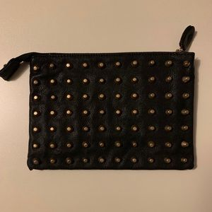 Zara Faux Leather Studded Clutch✨GREAT CONDITION